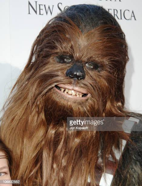 Chewbacca during 'Star Wars Episode III Revenge of The Sith' Premiere to Benefit Artists for a New South Africa Charity Arrivals at Mann Village...