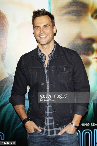 Cheyenne Jackson arrives at the Los Angeles Premiere of HBO's comedy series 'Looking' held at Paramount Theater on the Paramount Studios lot on...