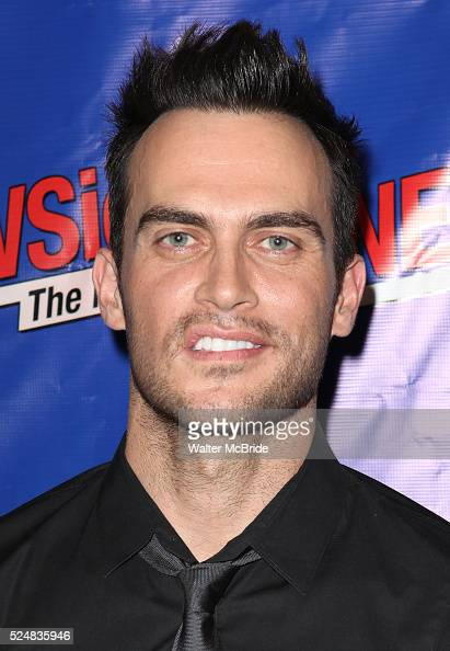 Cheyenne Jackson attending the Opening Night Performance of Perez Hilton in 'NEWSical The Musical' at the Kirk Theatre in New York City on September...