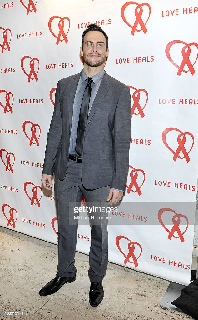 Cheyenne Jackson attends the 2013 Gala By Love Heals at The Four Seasons Restaurant on March 7, 2013 in New York City.