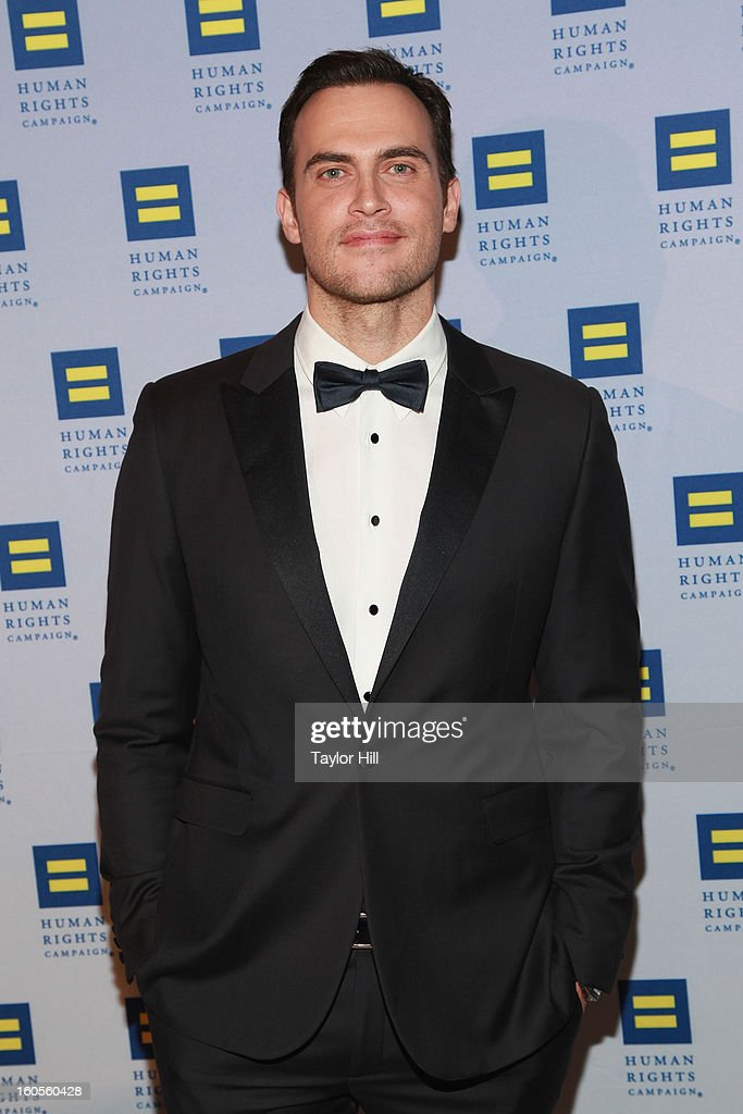 Cheyenne Jackson attends The 2013 Greater New York Human Rights Campaign Gala at The Waldorf=Astoria on February 2, 2013 in New York City.