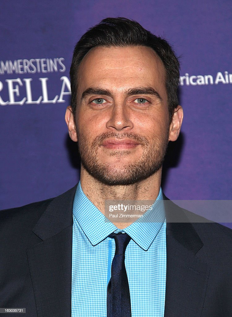 <a gi-track='captionPersonalityLinkClicked' href=/galleries/search?phrase=Cheyenne+Jackson&family=editorial&specificpeople=216481 ng-click='$event.stopPropagation()'>Cheyenne Jackson</a> attends the 'Cinderella' Broadway Opening Night at Broadway Theatre on March 3, 2013 in New York City.