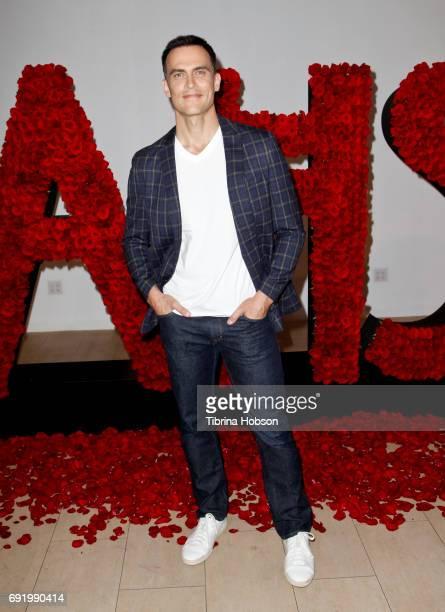 Cheyenne Jackson attends The Paley Center for Media Celebration of 'American Horror Story The Style Of Scare' at The Paley Center for Media on June 2...