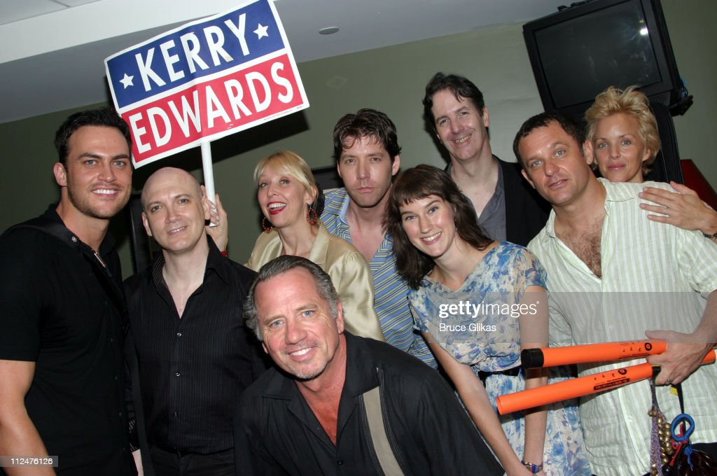 Cheyenne Jackson Charles Busch Julie Halston Tom Wopat James Barbour Phoebe Kreutz Christopher Denny Shannon Ford and Alice Ripley *EXCLUSIVE*