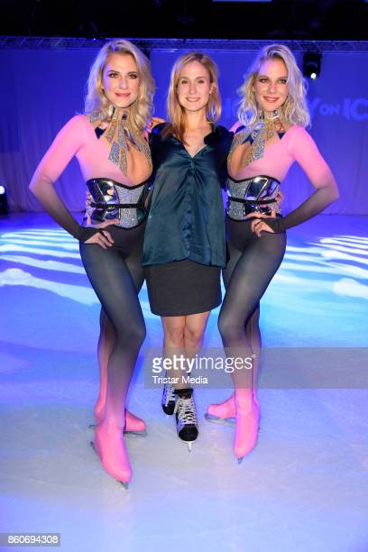Cheyenne Pahde Lea Marlen Woitack and Valentina Pahde during the Holiday on Ice Season Opening 2017/18 at Volksbank Arena on October 12 2017 in...