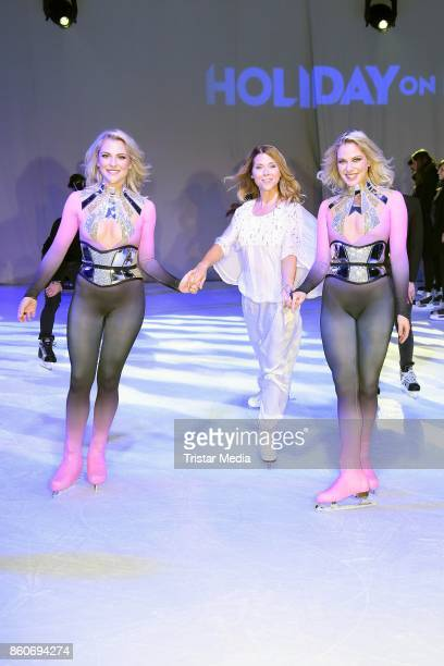 Cheyenne Pahde Tanja Szewczenko and Valentina Pahde during the Holiday on Ice Season Opening 2017/18 at Volksbank Arena on October 12 2017 in Hamburg...
