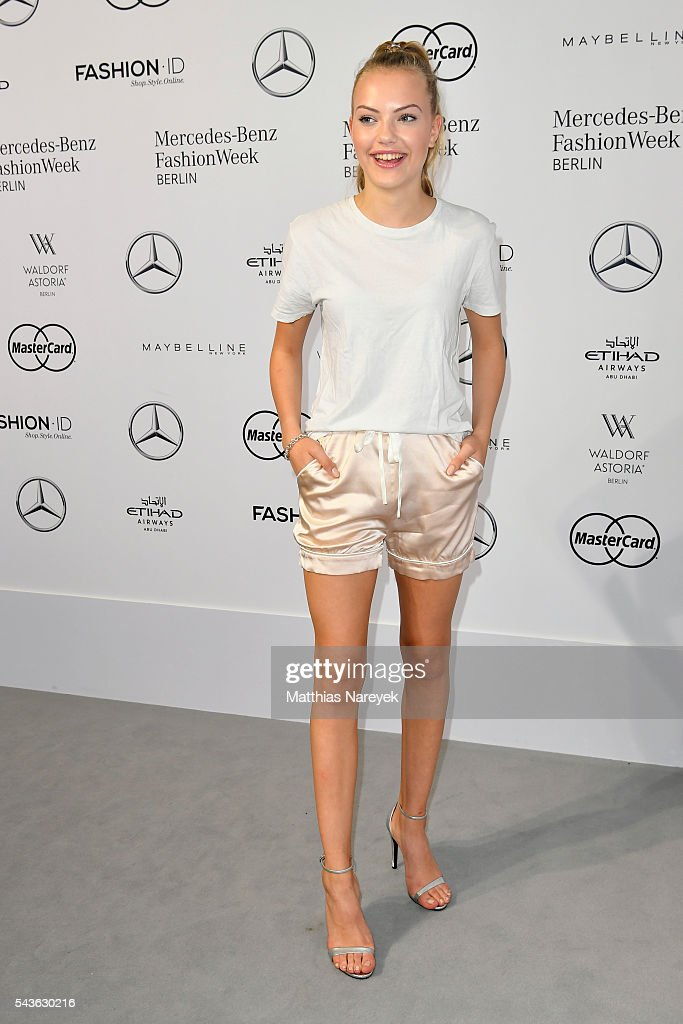 Cheyenne Savannah Ochsenknecht attends the Guido Maria Kretschmer show during the Mercedes-Benz Fashion Week Berlin Spring/Summer 2017 at Erika Hess Eisstadion on June 29, 2016 in Berlin, Germany.