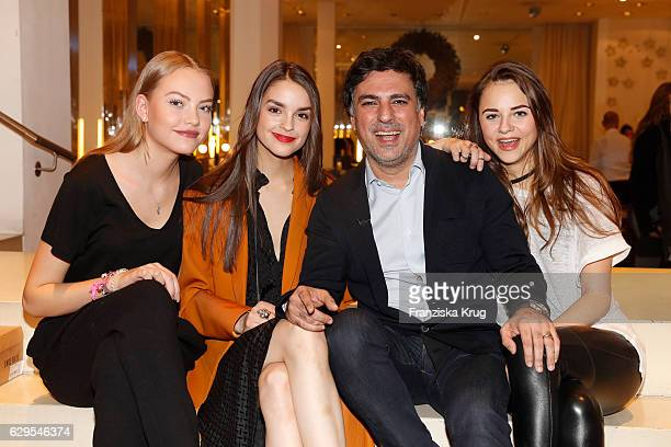 Cheyenne Savannah Ochsenknecht Luise Befort Shan Rahimkhan and Julia Felicitas von Anhalt attend the Shan's Beauty Dinner on December 13 2016 in...