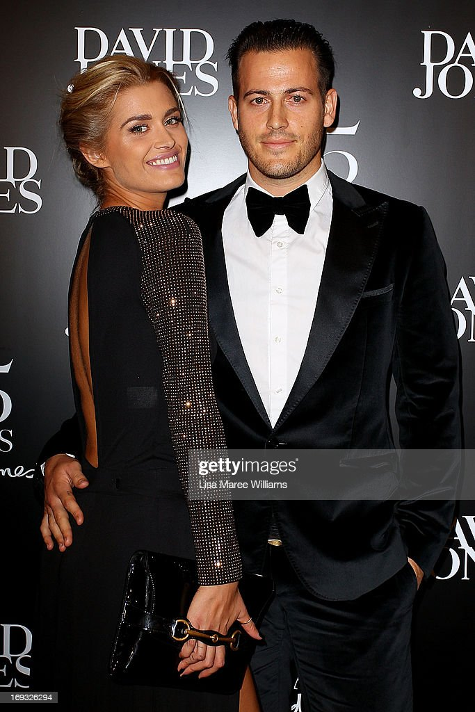 <a gi-track='captionPersonalityLinkClicked' href=/galleries/search?phrase=Cheyenne+Tozzi&family=editorial&specificpeople=220384 ng-click='$event.stopPropagation()'>Cheyenne Tozzi</a> and Tyson Mullane attend the David Jones 175 year celebration at David Jones on May 23, 2013 in Sydney, Australia.