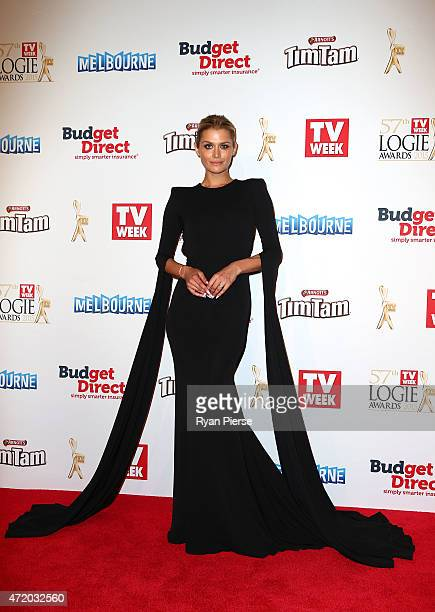Cheyenne Tozzi arrives at the 57th Annual Logie Awards at Crown Palladium on May 3 2015 in Melbourne Australia