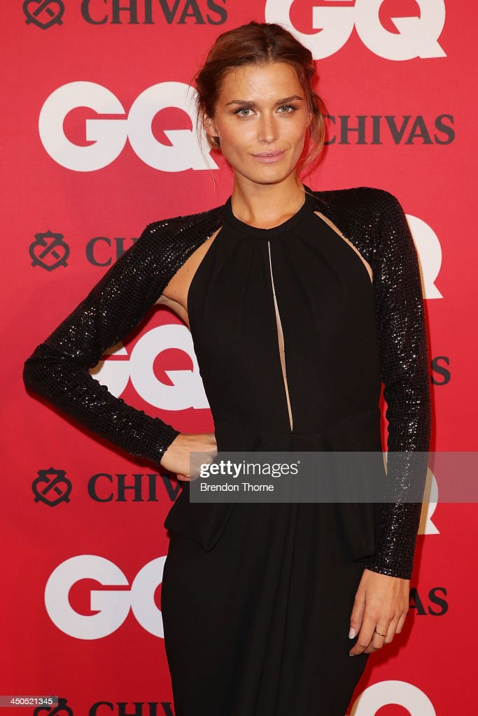 Cheyenne Tozzi arrives at the GQ Men of the Year awards at the Ivy Ballroom on November 19, 2013 in Sydney, Australia.