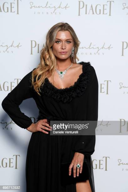 Cheyenne Tozzi attends Piaget Sunlight Journey Collection Launch on June 13 2017 in Rome Italy