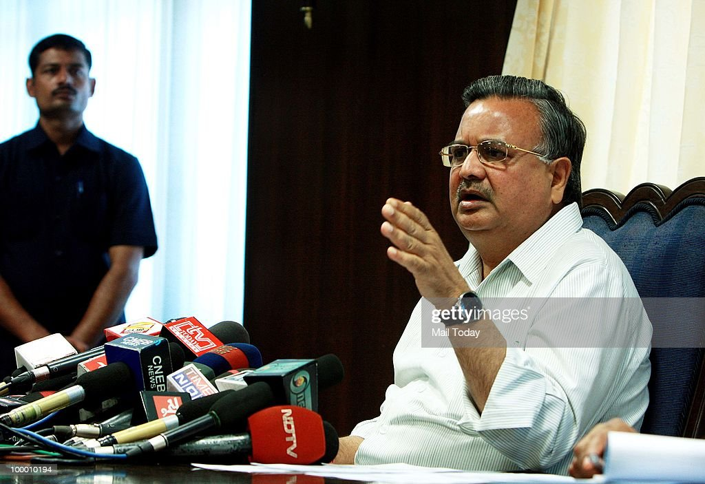 Chhattisgarh CM Says Maoists Are Terrorists