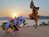 Chhau Dance (at Murguma village, Purulia, West Ben