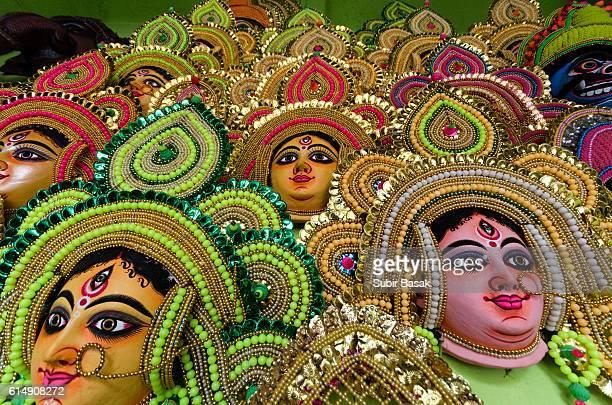 Chhau Masks ,Purulia,West Bengal,India.