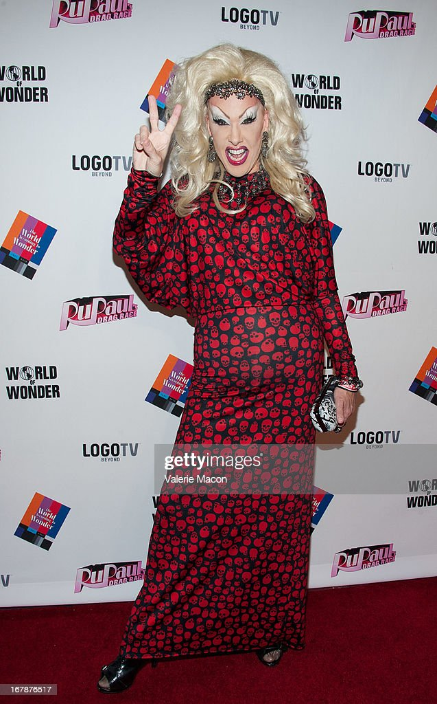 Chi Chi Larue attends the Finale, Reunion & Coronation Taping Of Logo TV's 'RuPaul's Drag Race' Season 5 on May 1, 2013 in North Hollywood, California.