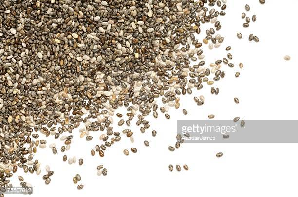 Chia scattered