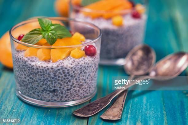 Clerbois semences Pudding avec Apicots frais
