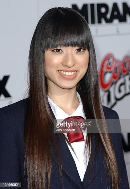 Chiaki Kuriyama during 'Kill Bill Vol1' Hollywood Premiere at Grauman's Chinese Theater in Hollywood California United States