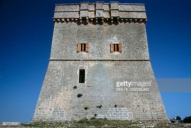 Chianca tower near Porto Cesareo Apulia Italy