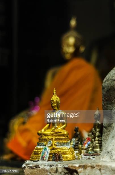 A Chiang Mai Buddha Statue