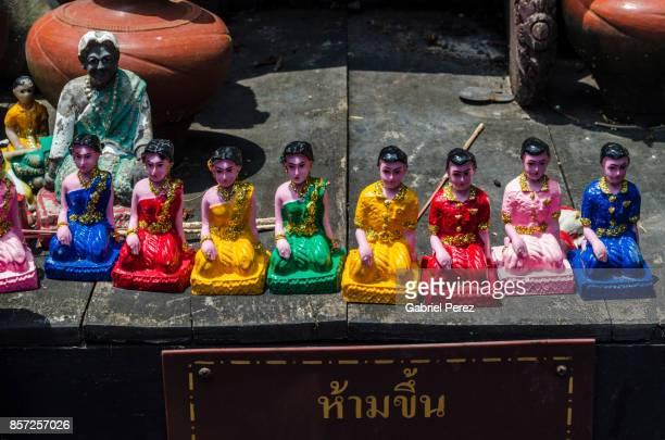 A Chiang Mai Buddhist Temple Shrine