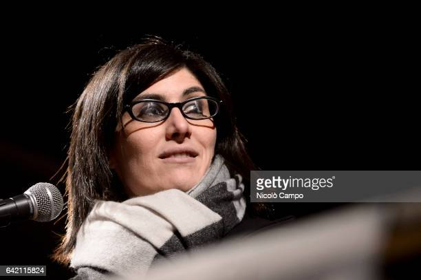 Chiara Appendino Five Star mayor of Turin speaks during the annual bonfire of the Waldensian Evangelical Church to celebrate the conquest of civil...