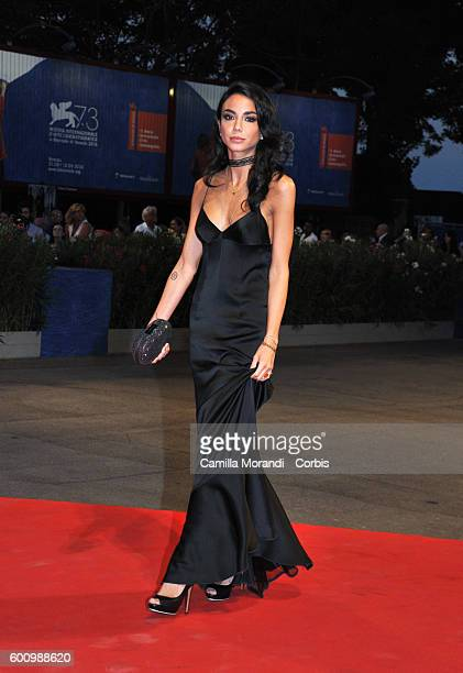 Chiara Biasi attends a premiere for 'These Days' during the 73rd Venice Film Festival at Palazzo del Cinema on September 8 2016 in Venice Italy