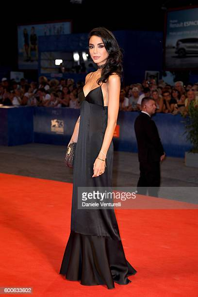 Chiara Biasi attends the premiere of 'Questi Giorni' during the 73rd Venice Film Festival at Sala Grande on September 8 2016 in Venice Italy