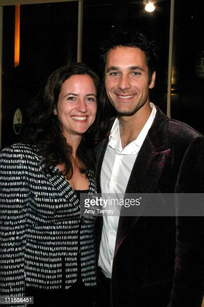 Chiara Bova and Raoul Bova during 'Don't Tell' After Party at Ferarri Beverly Hills in Beverly Hills CA United States