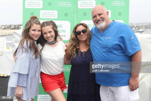 Chiara D'Ambrosio Bianca D'Ambrosio Lisa D'Ambrosio and Doctor Frank are seen at the DoctorFrankcom Memorial Day Yacht Cruise on May 29 in Marina del...