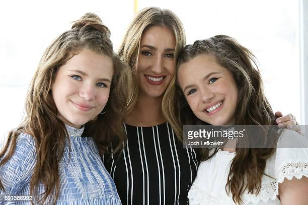 Chiara D'Ambrosio Molline Boddy and Bianca D'Ambrosio are seen at the DoctorFrankcom Memorial Day Yacht Cruise on May 29 2017 in Marina del Rey...