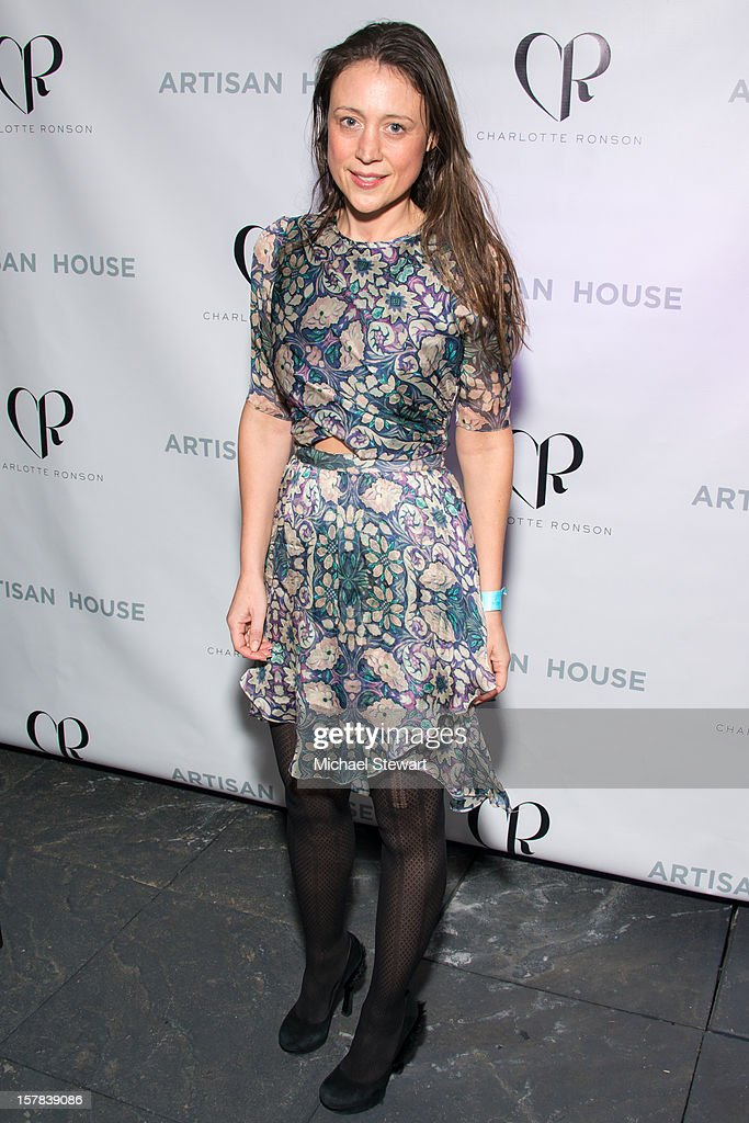 Chiara de Rege attends Charlotte Ronson And Artisan House Handbag Launch Event at Toy Restaurant on December 6, 2012 in New York City.