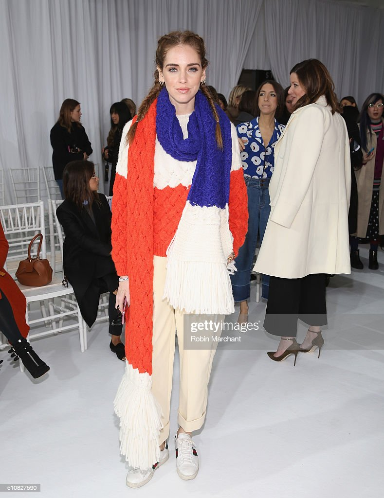 Delpozo - Front Row - Fall 2016 New York Fashion Week
