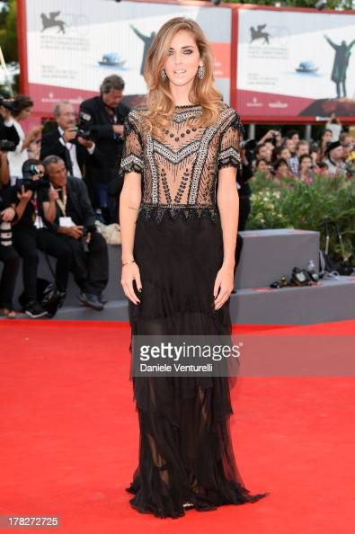 Chiara Ferragni attends 'Gravity' premiere and Opening Ceremony during The 70th Venice International Film Festival at Sala Grande on August 28 2013...