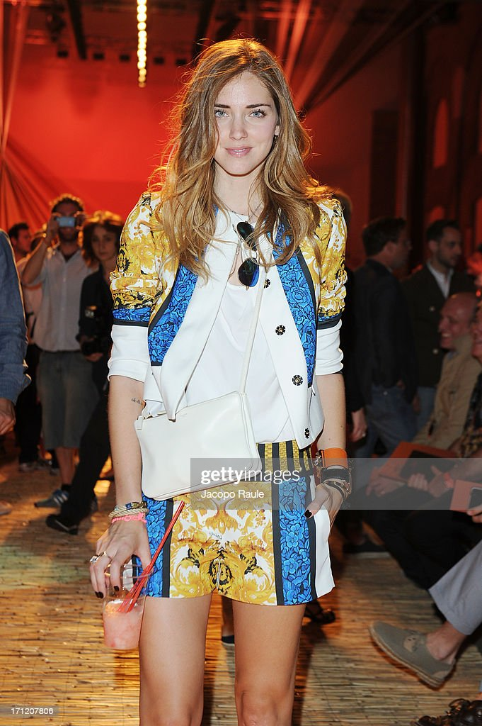 <a gi-track='captionPersonalityLinkClicked' href=/galleries/search?phrase=Chiara+Ferragni&family=editorial&specificpeople=6755910 ng-click='$event.stopPropagation()'>Chiara Ferragni</a> attends the Missoni Collection show during Milan Menswear Fashion Week Spring Summer 2014 on June 23, 2013 in Milan, Italy.