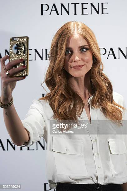 Chiara Ferragni is presented as the new Pantene Ambassador at the AC Retiro Hotel on January 28 2016 in Madrid Spain