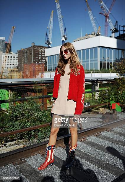 Chiara Ferragni is seen outside the Coach show during New York Fashion Week 2016 on September 15 2015 in New York City