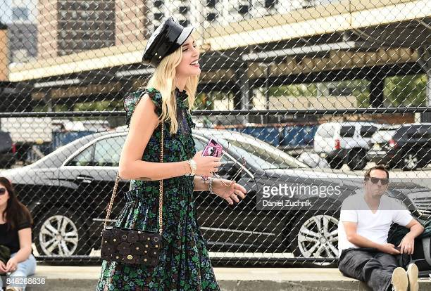 Chiara Ferragni is seen outside the Coach show during New York Fashion Week Women's S/S 2018 on September 12 2017 in New York City