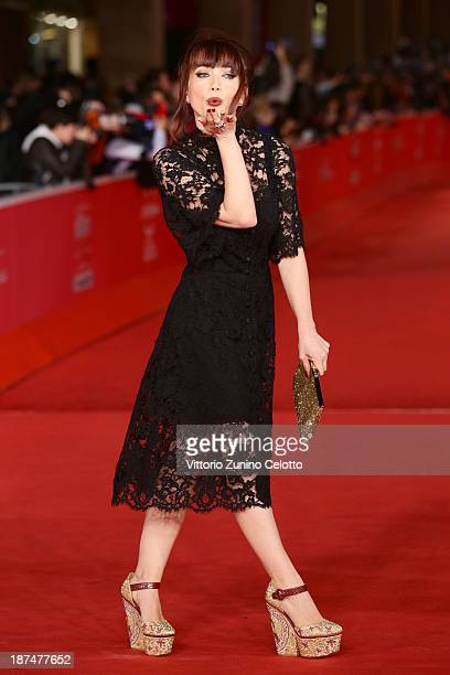 Chiara Francini attends 'Dallas Buyers Club' Premiere And Vanity Fair Award during The 8th Rome Film Festival at Auditorium Parco Della Musica on...