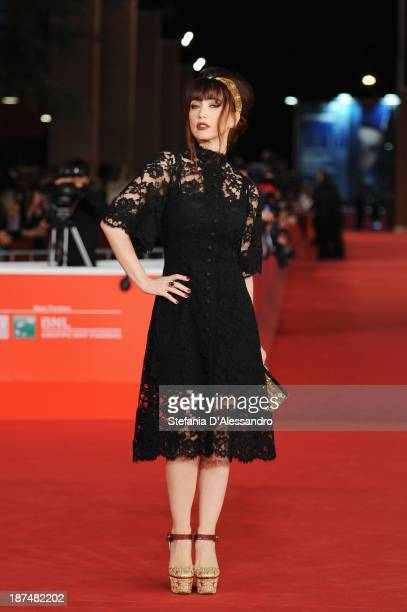 Chiara Francini attends 'Dallas Buyers Club' Premiere during The 8th Rome Film Festival on November 9 2013 in Rome Italy