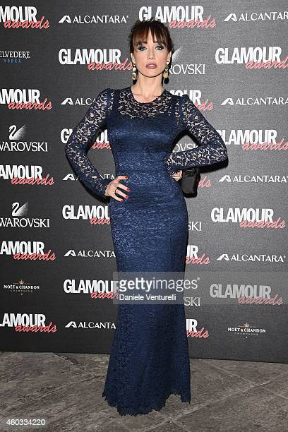 Chiara Francini attends Glamour Awards 2014 on December 11 2014 in Milan Italy
