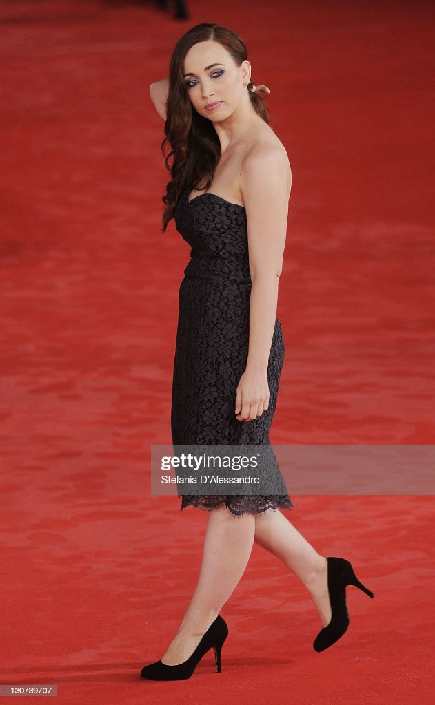 Chiara Francini attends Hysteria' Premiere during 6th International Rome Film Festival on October 28, 2011 in Rome, Italy.