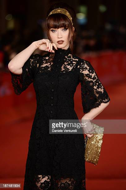 Chiara Francini attends 'Le Tentazioni Del Dottor Antonio' Premiere Restored with the contribuiton of Dolce Gabbanaduring The 8th Rome Film Festival...