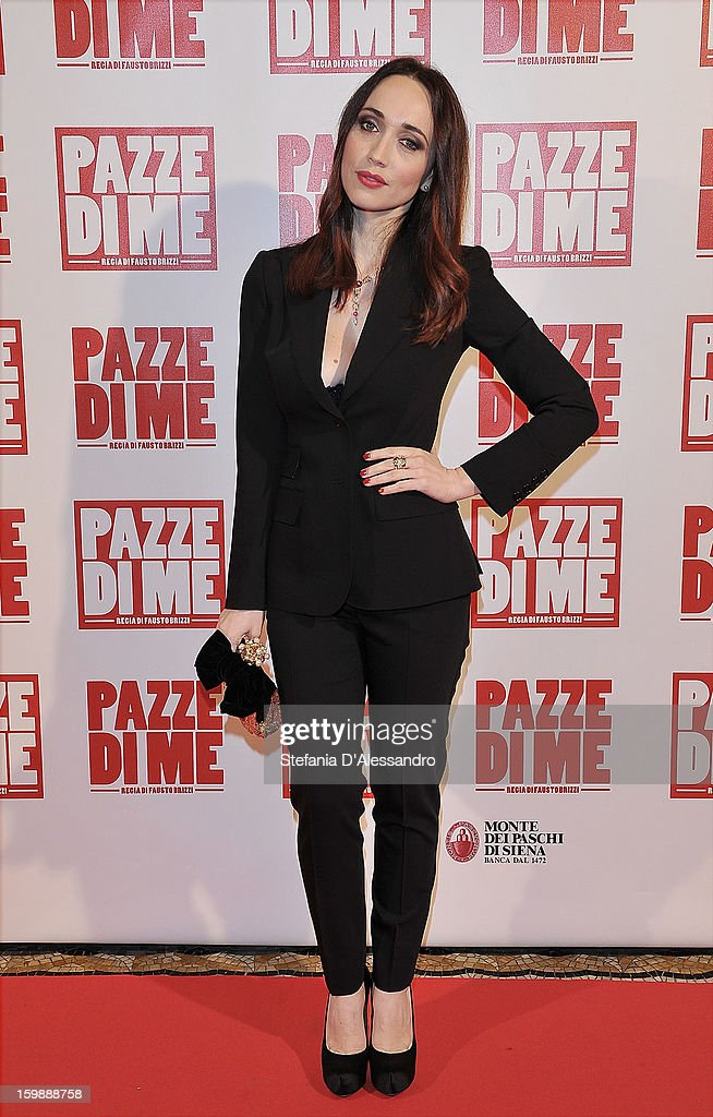 Chiara Francini attends 'Pazze di Me' Premiere at Cinema Odeon on January 22, 2013 in Milan, Italy.