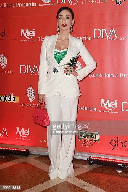Chiara Francini attends the Diva  Donna Party during the 73rd Venice Film Festival at Centurion Hotel on September 7 2016 in Venice Italy