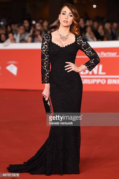 Chiara Francini attends the Rome Film Festival Opening and 'Soap Opera' Red Carpet during the 9th Rome Film Festival at Auditorium Parco Della Musica...