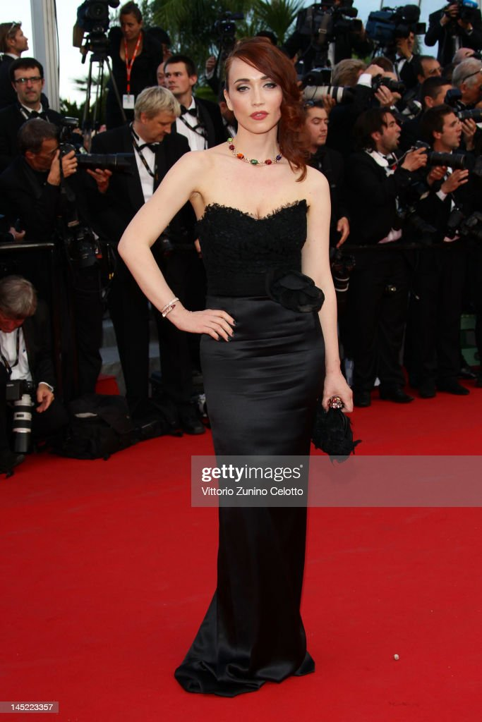 Chiara Francini attends the 'The Paperboy' premiere during the 65th Annual Cannes Film Festival at Palais des Festivals on May 24, 2012 in Cannes, France.