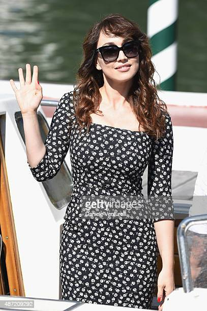Chiara Francini is seen on day 6 of the 72nd Venice Film Festival on September 7 2015 in Venice Italy