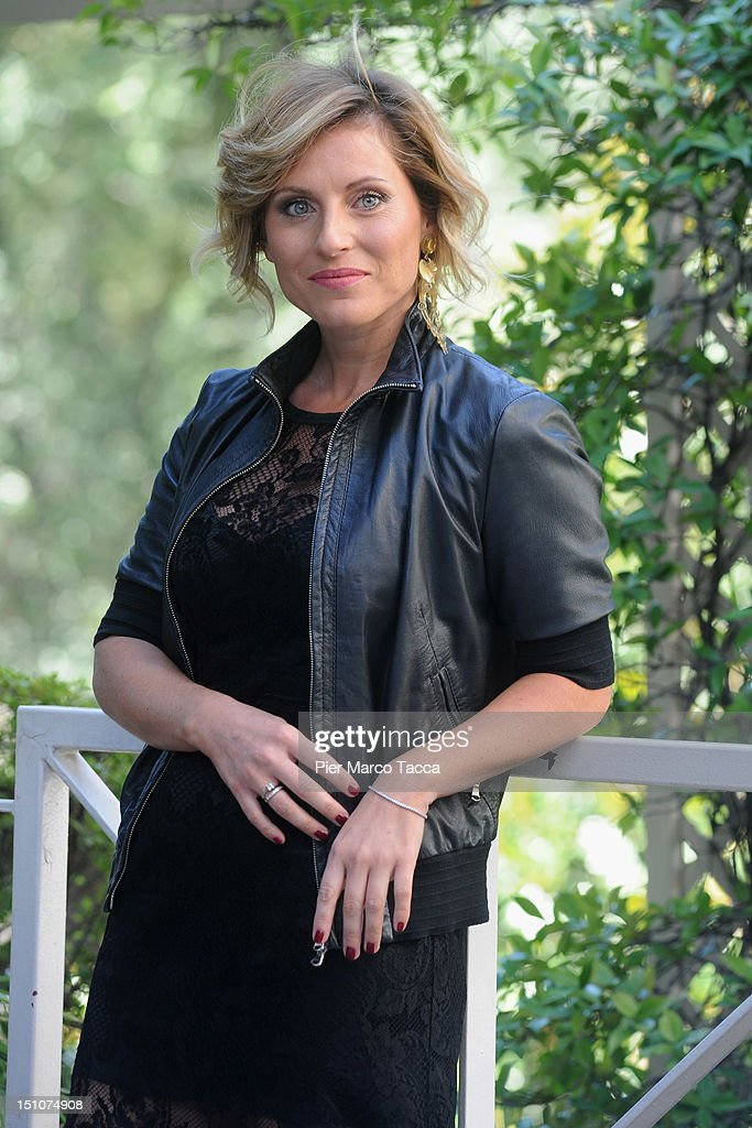 Chiara Giacomelli attends RAI 1 TV programmes presentation at Hotel Westin Palace on August 31, 2012 in Milan, Italy.